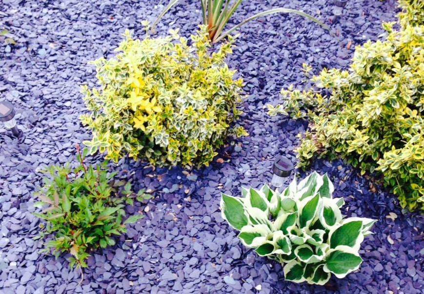Advantages of using slate decorative aggregates in your garden