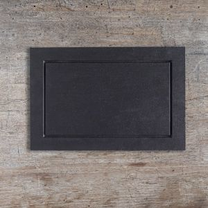 Welsh Slate Fine Main Plate with Grooved border