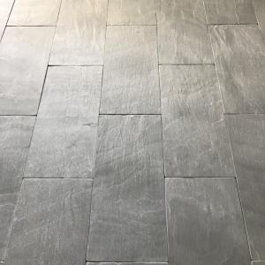 Welsh Slate Cwt-y-Bugail Dark Blue Grey Antique tiles