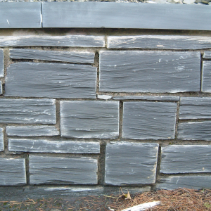 Welsh Slate Cwt-y-Bugail Pillared Walling - 800kg - 3sqm