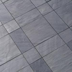 Welsh Slate Cwt-y-Bugail Dark Blue Grey Riven tiles