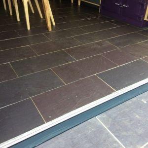 Welsh Slate Penrhyn Heather Blue Riven tiles