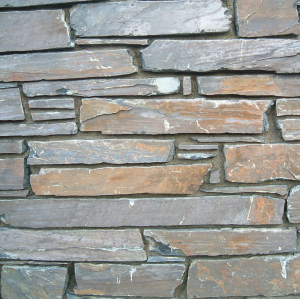 Welsh Slate Cwt-y-Bugail Rustic Walling Stone - 700kg - 3sqm