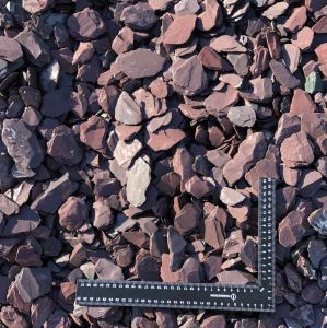 Welsh Slate Plum Slate 40mm Decorative Aggregate