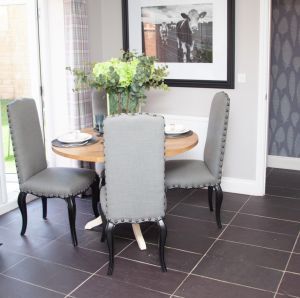 Welsh Slate Penrhyn Heather Blue Riven tiles