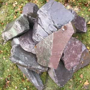 Welsh Slate Rockery Stone 800kg Bag